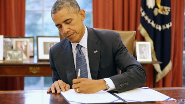 """Barack Obama is expected to sign the """"counter-propaganda"""" bill into law before leaving office."""